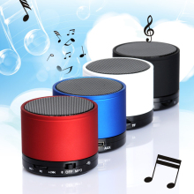 S10 Wireless Bluetooth Mini Outdoor Sound Box portable audio player With FM Raido Speaker for Mobile Phone Mp3 Mp4 Tablet PC