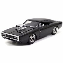 1:24 scale Alloy Diecast car Model Fast & Furious 8 dodge charger Chevrolet toy Cars Metal Classical Cars boy gift children Toys