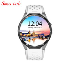 Buy Smartch KW88 Wifi Smart Watches Android IOS SmartWatch Google Play GPS map pedometers touch digital smartwatch men women for $101.64 in AliExpress store