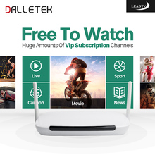Dalletektv Arabic European France Italy DE Set Top Box Q9 Android IPTV Box Free 700 IPTV Online Live TV Channels Sports Cinema(China)