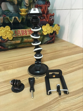 Flexible Octopus Mobile medium Tripod 4-in-1 Gorillapod + screw + phone holder+ adapter for Canon Gopro for nikon iPhone 7 Sony