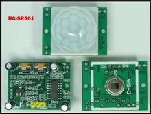 SR501 HC-SR501 Adjust IR Pyroelectric Infrared PIR module Motion Sensor Detector Module for arduino(China)