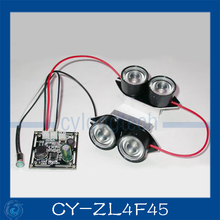 Spot Light Infrared 4x IR LED board for CCTV cameras night vision.CY-ZL4F45(China)