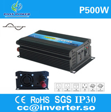 Manufacturer Selling Power Solar Inverter 12v dc  to 120v ac 500w CE&RoHS&SGS Approved