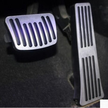 Car Styling Accelerator Gas Brake pedal cover case for Hyundai ix35 iX45 Mistra Sonata 8 SantaFe,car Accessories