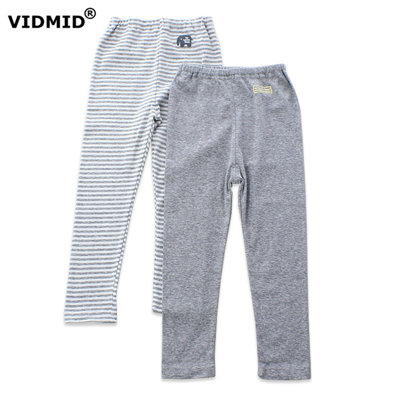 VIDMID 2017 New Brand Kids Boys Pants underpants Cotton Trousers Children  under Pants Casual Kids  Blue Yellow Grey 4003 01