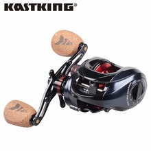 KastKing Spartacus Plus 8KG Max Drag Power Dual Brake System Baitcasting Fishing Reel Soft Handle 12 Ball Bearings Fishing Wheel(China)