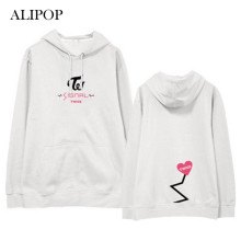 ALIPOP Kpop TWICE SIGNAL Album Hoodie Casual Cotton Hoodies With Hat Clothes Pullover Printed Long Sleeve Sweatshirts WY449