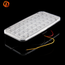 POSSBAY 12V Car Vehicle Auto Dome Roof Lamp Ceiling Interior Decoration 36LED Light Bulb White Top Quality Daytime Lights(China)