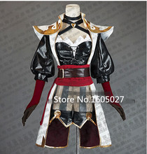 Game LOL Miss Fortune Captain Pirate Christmas Hallowmas Party Uniforms Suit Cosplay Anime Costume+Shoes Custom-made Any Size