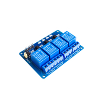 With optocoupler 4 channel 4-channel relay modules relay control panel PLC relay 5V four way module(China)