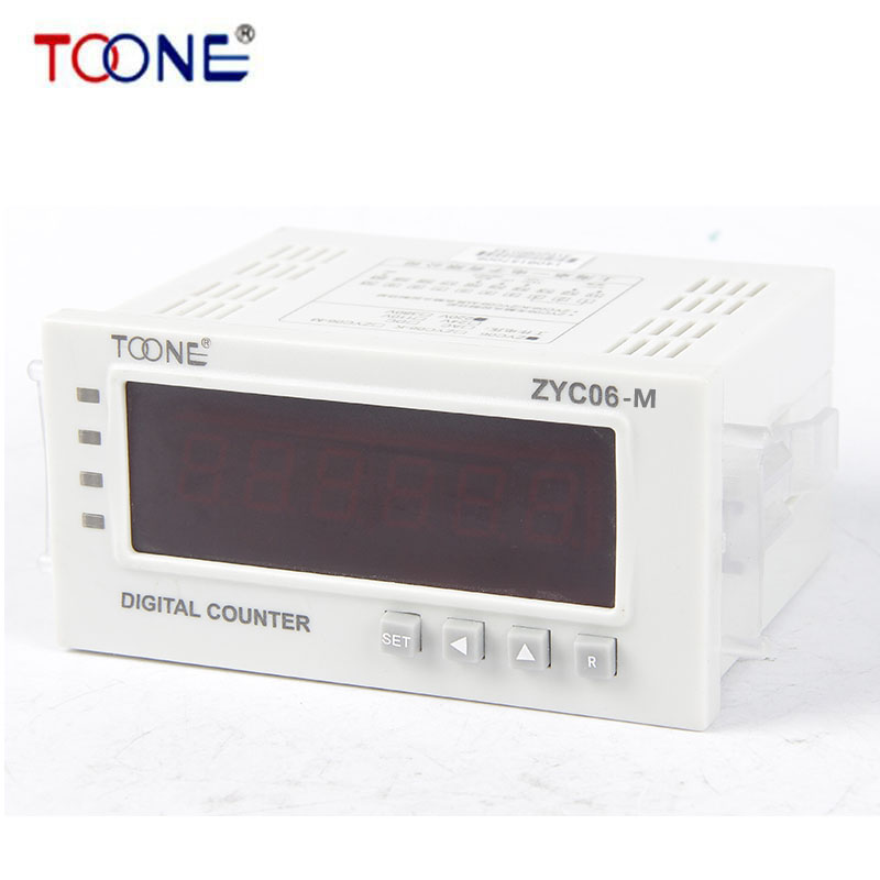 ZYC06-M Meter counter control type digital display electronic meter with mechanical and electrical memory<br>