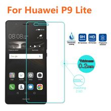 Top Quality 0.26mm Premium Tempered Glass for Huawei p6 p7 p8 p8 p9 p10 2017 lite honor 8 9 Lite Screen Protector Glass Film