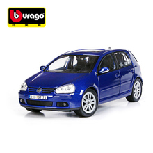 Maisto Bburago 1/18 Scale Volkswagen Golf GTI Alloy Diecast Car Model Toys Car For Kids Gifts Toy Cars Collection Free Shipping(China)