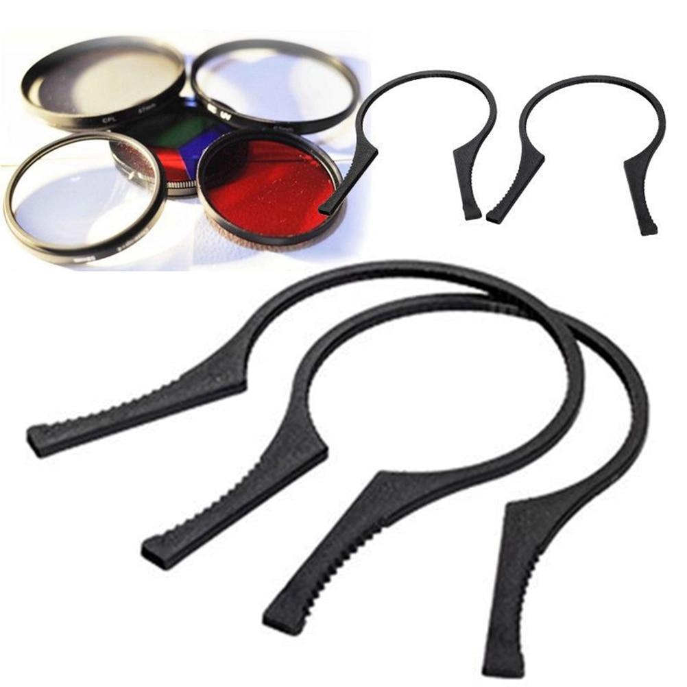 Llave de filtro de lente de 2 un Herramientas De Eliminación Llave Alicates Tamaño de 49mm 58mm 62mm 77mm 2