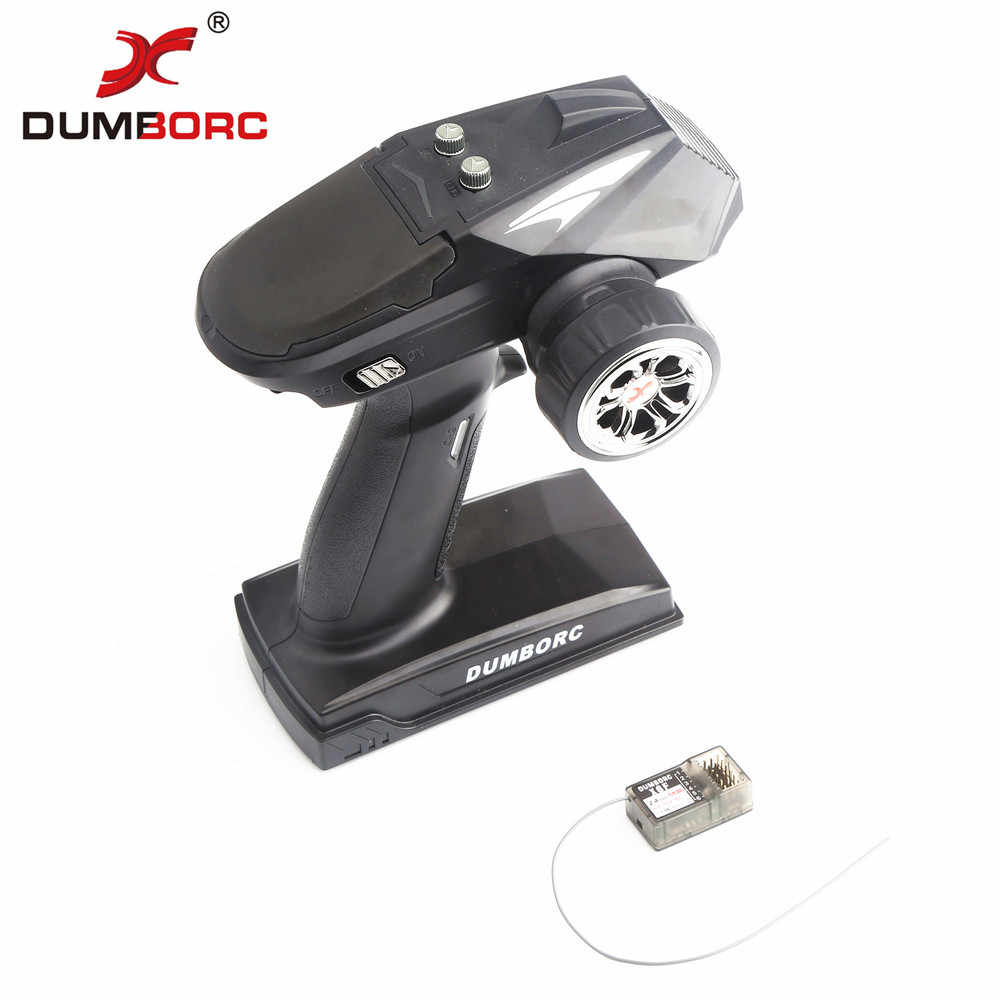 2019 new models DumboRC X6 2.4G 6CH Transmitter with X6FG Receiver for JJRC Q65 MN-90 Rc Car Boat Tank Model Parts