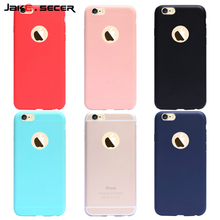 Best Ultra Slim Soft Silicone Cover for iphone 6 5 s 7 Plus Cases Accessories Cheap Coque Fundas Capa for Apple iphone 6s 5s SE