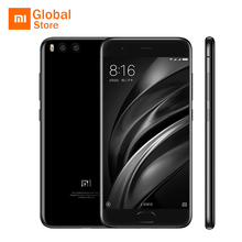 "Global ROM! Xiaomi Mi6 Mi 6 M6 6GB 64GB ROM Mobile Phone Snapdragon 835 5.15"" FHD Dual 12MP Back Cameras Four Sided Curved Body(China)"