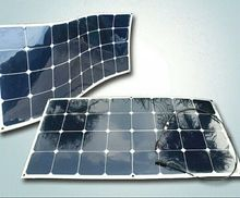 Semi-flexible solar cell solar module, flexible 100W monocrystalline silicon solar panel thin