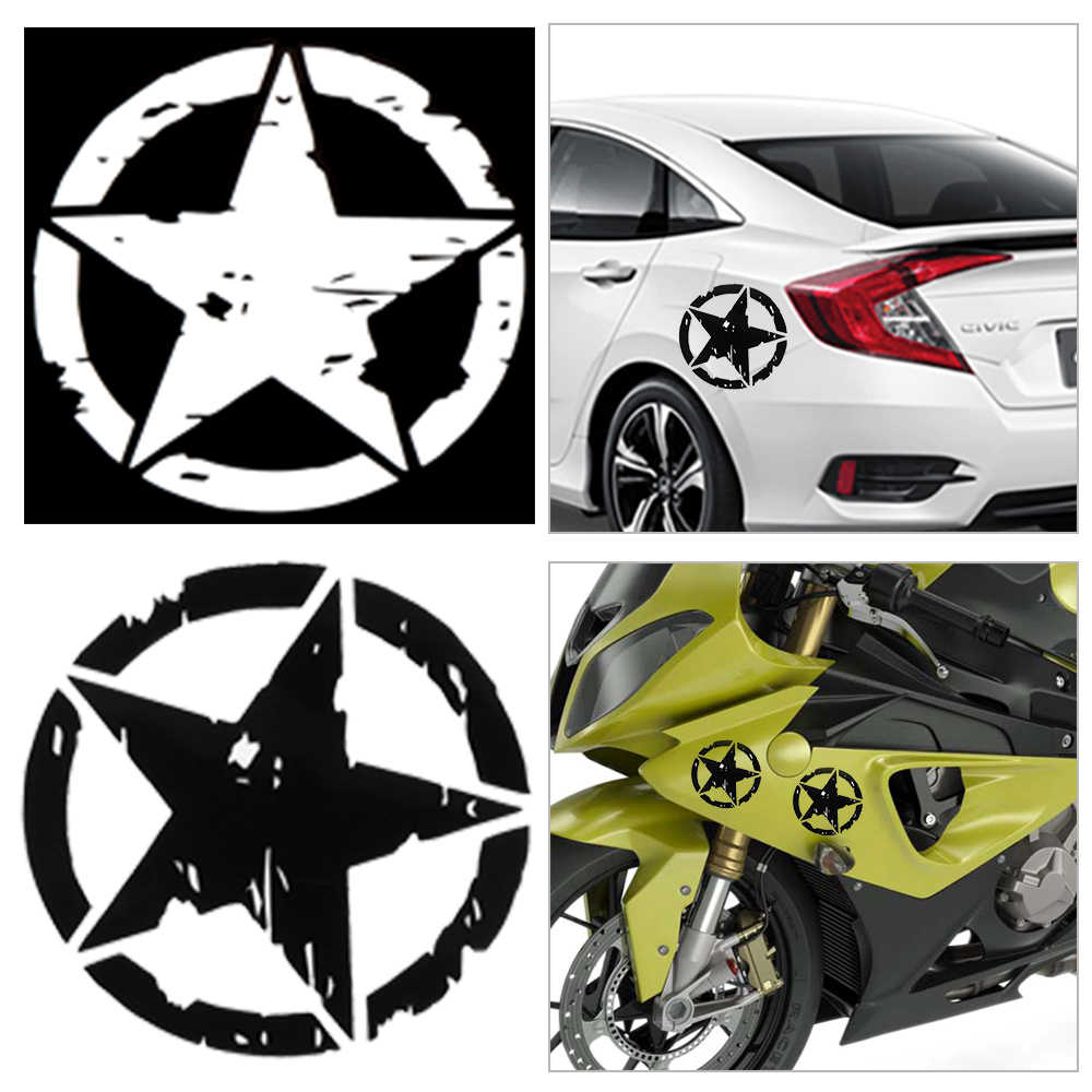 Detail feedback questions about 1pc car stickers 15cm15cm army star graphic decals motorcycle car body window stickers vinyl car styling hot on