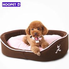 Cute Pink Cushion Puppy Dog Cat Sofa Bed Warm Polar Fleece Winter Pet Mat for Small Cat Dog Kennel House Pet Supplies On Sale(China)