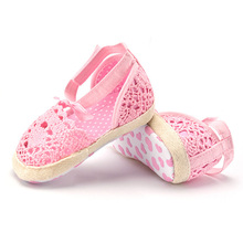 0-18 Summer Infant Toddler Breathable Crib Shoes Soft Sole Fashion Baby Shoes #LD789