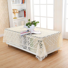 7colors 130*180cm Handmade Crochet Table Cloth Crochet Table Runner Lace Tablecloths For Weddings Nappe Free Shipping