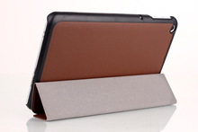 "High quality ultra thin slim stand PU leather cover case for 2014 Toshiba encore 2 WT8 8"" tablet free stylus as gift"