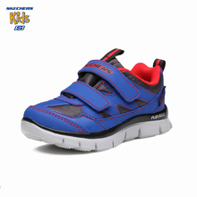 SKECHERS Kids Winter Warm Lightweight Boys Shoes Casual Sport Running Sneakers Luxury Brand Baby Walker Children School Shoe(China)
