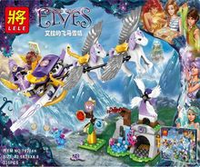 325PCS compatible with all brand building blocks for children's sled children's gifts(China)