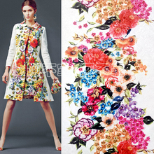 DG retro flower and costume jacquard fabric in autumn and winter(China)