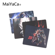 MaiYaCa League of Legends Zed Computer Mouse Pad Mousepads Decorate Your Desk Non-Skid Rubber Pad 220mmX180mmX2mm