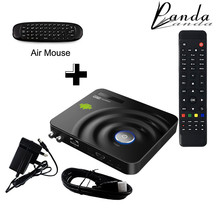 Panda Y1-C120 Android DVB-S2 Satellite decoder Dual-coreTV Box with Fly Mouse CCCAM Smart Digital STB Android Satellite Receiver