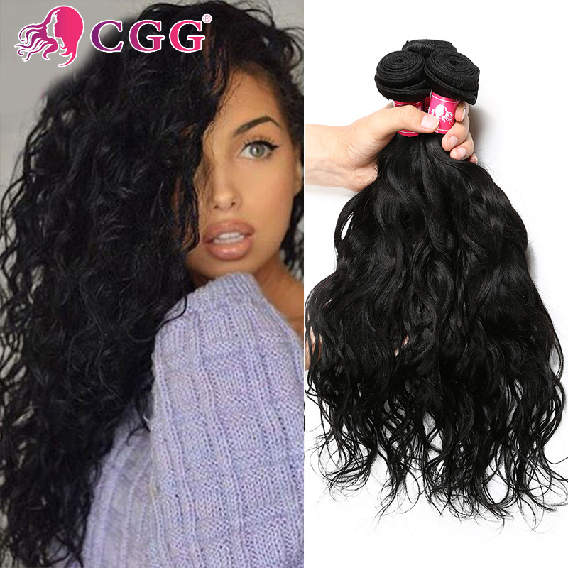 Rosa Hair Products 7A Brazilian Virgin Hair Natural Wave 3 Bundles 100% Virgin Brazilian Human Hair Weave Bundles Tangle Free<br><br>Aliexpress