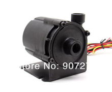 "Adjustable Speed Powerful Water / Liquid Cooling Pump / Brushless Pump with G1/4"" Threads MAX 1000L/H(China)"