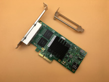 For I350-T4 PCI-Express PCI-E X4 Four RJ45 Gigabit Port Server Adapter NIC Free Shipping