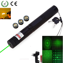 Green Dot tactical green laser sight Bore Sighter laser pointer 4pcs Adjustable Adapters Caliber Rifles bore sight collimator