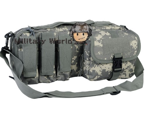 Portable Military Airsoft Handgun Holster Tactical Molle Handgun Pistol Carry Bag Pouch Pistol Hand Gun Soft Case ACU/OD<br>