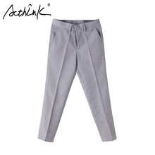 ActhInK New Children Formal Pants for Boys Brand British Style Kids Suits Pants School Boys Uniform Trousers Boys Wedding Pants(China)