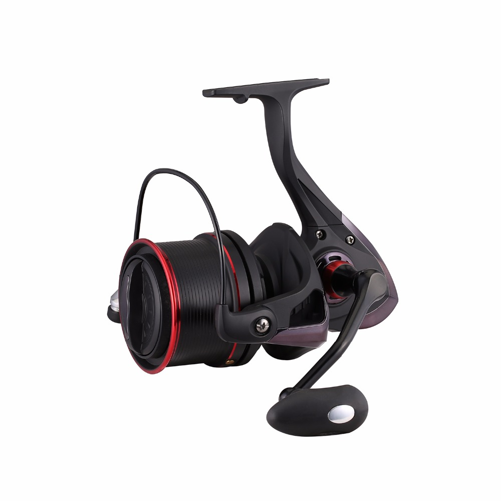 Hiumi TP Series Saltwater Spinning Reel-12+1 Stainless Steel Shielded Bearings Baking Finish Body 4.1:1 Gear Ratio<br>