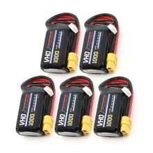Buy VHO 5pcs Lipo Battery 7.4V 1000mAh 30C 2S XT60/T/JST Plug RC Drone Models Helicopters Airplanes Cars Boat Batteria for $35.68 in AliExpress store