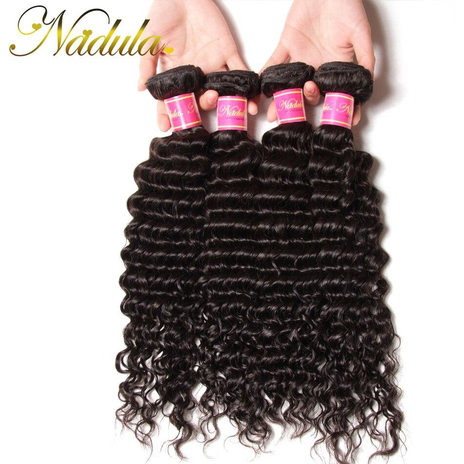 4 Bundle Deals 7A Brazilian Deep Wave Virgin Hair Extensions 100% Brazillian Deep Wave Human Hair Cheap Brazilian Deep Curly<br><br>Aliexpress