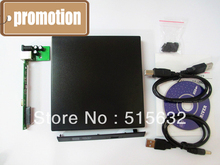 Laptop External USB 2.0 CD DVD ROM Portable Drive Enclosure IDE External Case(China)