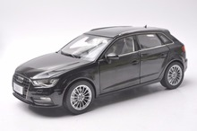 1:18 Diecast Model for Audi A3 Sportback Black SUV Alloy Toy Car Collection Gifts(China)