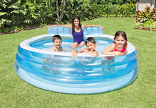 Backyard Inflatable Swimming Pools for Kids To Learning Summer Outdoor Above Ground Pool for Adult and Children 224*216*76CM