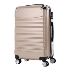 1 Piece Women Men Large Capacity Travel Suitcase Trolley Travel Bags Spinner Wheels Rolling Luggage ABS Travel Luggage Suitcase