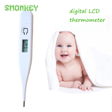 Baby care Child Adult infant Body Digital LCD Heating Thermometer Temperature Measurement baby outdoor electronic thermometer
