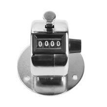 Hand Tally Counter Digital Counter 4 Digit Number Manual Counting Golf Clicker Multifunctional Instruments