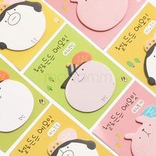 1 Pics Kawaii Post It Planner Stickers Cute Scrapbooking Stickers In Notebook Cute Korean Stationery Memo Pad Sticky Notes Paper(China)