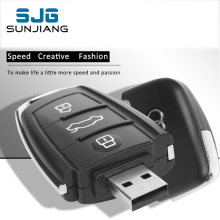 Real Capacity Audi Car Key USB Flash Drive 8GB 16G 32G 64GB Pendrive Memory Stick Pen Drive memoria usb U Disk 4GB cool Gift
